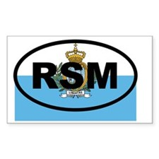 San Marino RSM Decal