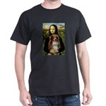 MonaLisa-AussieShep #4 Dark T-Shirt