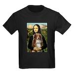 MonaLisa-AussieShep #4 Kids Dark T-Shirt