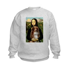MonaLisa-AussieShep #4 Sweatshirt