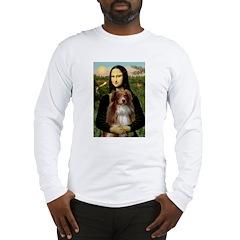 MonaLisa-AussieShep #4 Long Sleeve T-Shirt