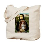 MonaLisa-AussieShep #4 Tote Bag