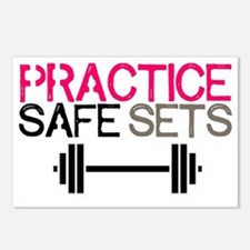 Practice Safe Sets Postcards (Package of 8)
