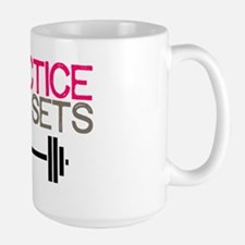 Practice Safe Sets Large Mug