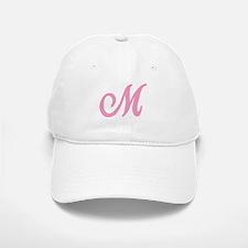 M Initial Baseball Baseball Cap
