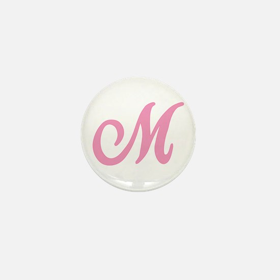 M Initial Mini Button