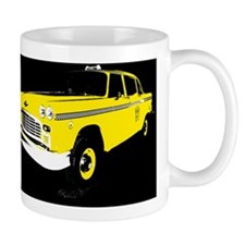 Checker Motors Taxi Cab Mug