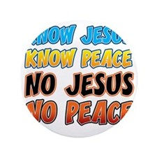 "KnowJesus copy 3.5"" Button"