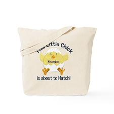 november_chick Tote Bag