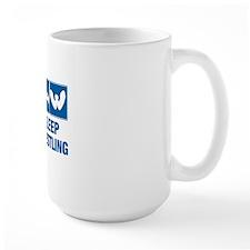 Eat Sleep Armwrestling Mug