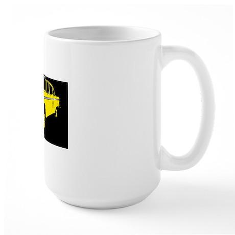 Checker Motors Taxi Cab Large Mug