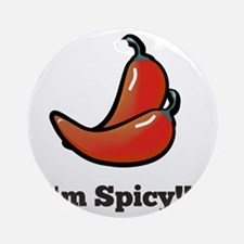 Spicy Round Ornament