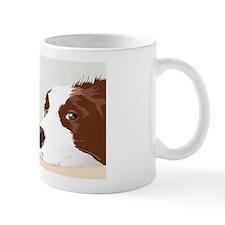 Border Collie Rescue Love Red Mug