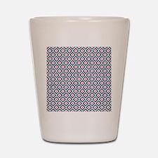 ikatnavycoral Shot Glass