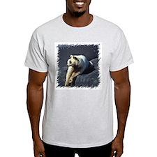 Spirit Bear Ash Grey T-Shirt