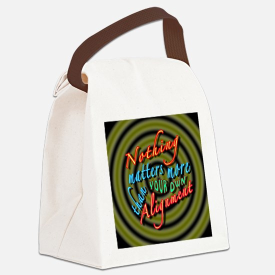 Alignment-30B2 Canvas Lunch Bag