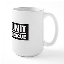 K9 Unit Search Rescue Magnet Mug