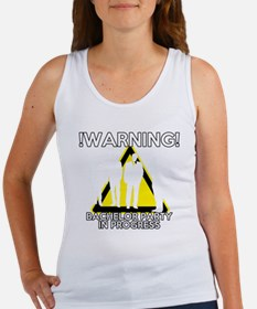 Funny Bachelors Party warning Women's Tank Top