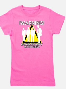Funny Bachelors Party warning Girl's Tee