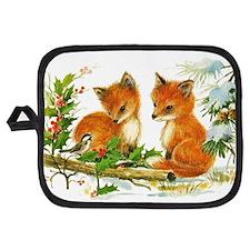 Baby Foxes Potholder
