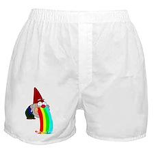Garden Gnome Vomit Boxer Shorts