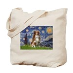 Starry-Aussie Shep #4 Tote Bag