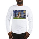 Starry-Aussie Shep #4 Long Sleeve T-Shirt