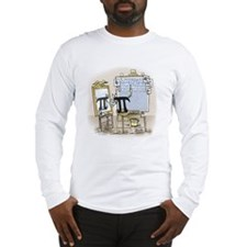 Pi_27 Rockwell (10x10 Color).jpg Long Sleeve T-Shi