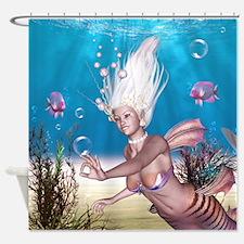 Mermaid!  Shower Curtain