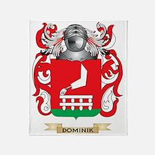 Dominik Coat of Arms Throw Blanket