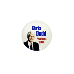 Chris Dodd for President Campaign Pin