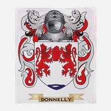 Donnelly Coat of Arms Throw Blanket