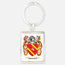 Dooley Coat of Arms Portrait Keychain