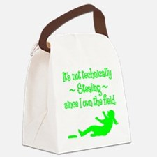 technically Canvas Lunch Bag