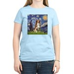 Starry-Aussie Shep #4 Women's Light T-Shirt