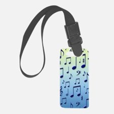 Music notes Luggage Tag