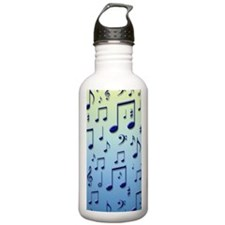 Music notes Sports Water Bottle