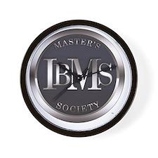 Masters Society Logo Wall Clock