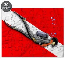 Dive Flag Puzzle