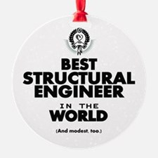 Best 2 Structural Engineer copy Ornament