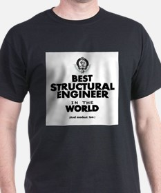 Best 2 Structural Engineer copy T-Shirt