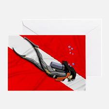 Dive Flag Greeting Card