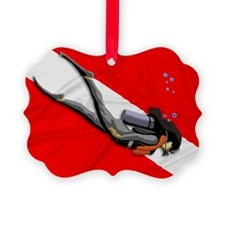 Dive Flag Ornament