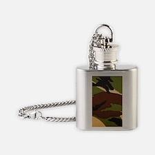 British DPM camouflage iphone5 case Flask Necklace