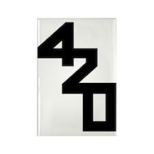 420 sailing Rectangle Magnet
