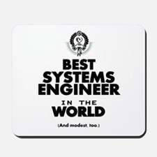 Best 2 Systems Engineer copy Mousepad