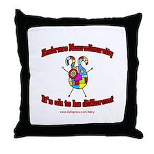 Neurodiversity Throw Pillow