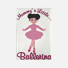 Mommys Little Ballerina Rectangle Magnet