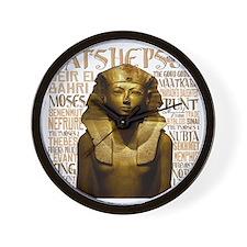 Hatshepsut Thumb Wall Clock