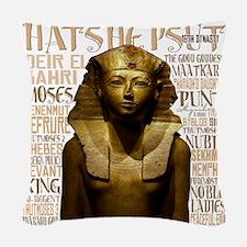 Hatshepsut Thumb Woven Throw Pillow